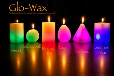 Glo-Wax Colour Changing Dreaming LED Magic Candle